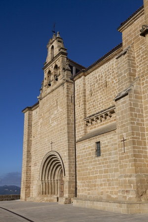 stone of destiny: Church of Labastida, Alava, Spain