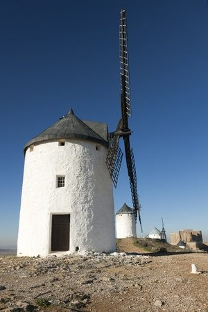 Windmills in Consuegra, Castilla la Mancha, Spain photo