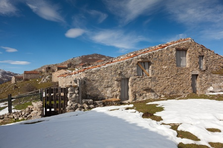 picos: Country houses in Picos de Europa, Asturias, Spain