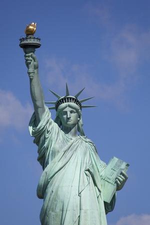リバティー、ニューヨーク、アメリカ合衆国の像