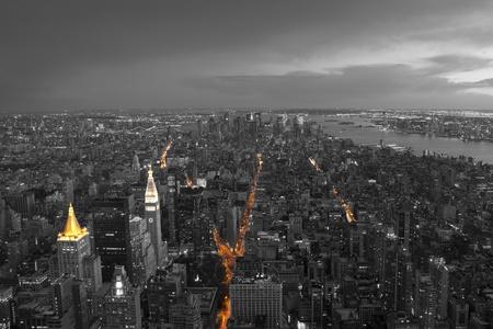 Skyscraper in New York, USA photo
