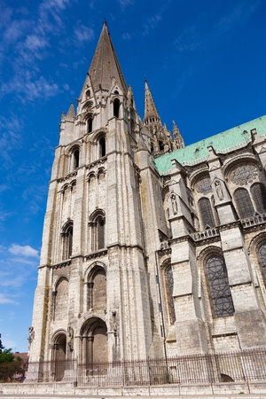 stone of destiny: Cathedral of Chartres, Eure y Loir, France