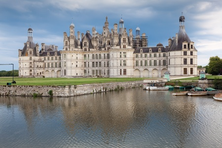 chambord: Castle of Chambord, Paises del Loira, France Editorial