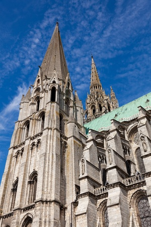chartres: Cathedral of Chartres, Eure y Loir, France