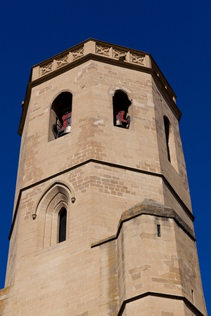 stone of destiny: Cathedral of Huesca, Aragon, Spain