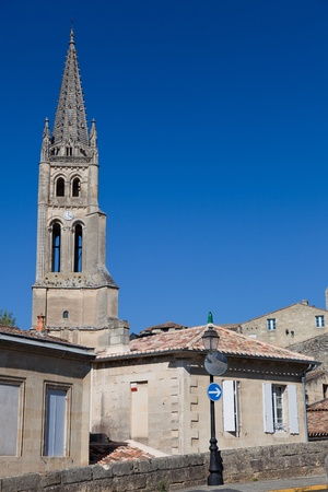 gironde: Village of Saint Emilion, Gironde, Aquitaine, France