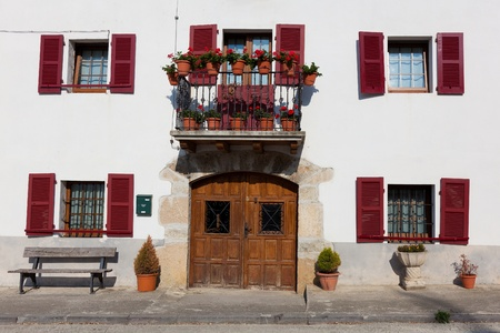 navarra: Architecture of Ultzama, Navarra, Spain Editorial