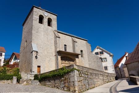 selva: Church of Orbaitzeta, Selva de Irati, Navarra, Spain