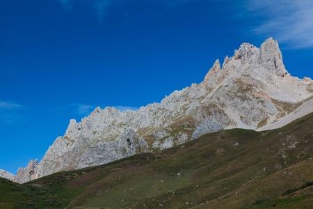 picos: Mountains of Picos de Europa, Posada de Valdeon, Leon, Spain