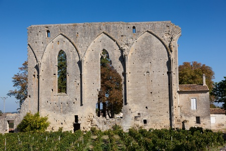 Ruins in Saint Emilion, Gironde, Aquitaine, France Stock Photo - 11240814