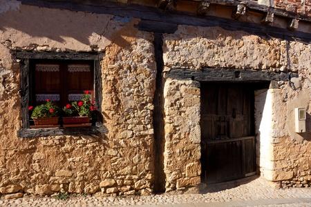 Street of Calatanazor, Burgos, Castilla y Leon, Spain photo