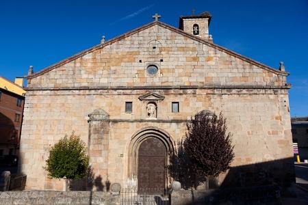 Church of San Leonardo de Yagüe, Soria, Castilla y Leon, Spain Stock Photo - 11244074