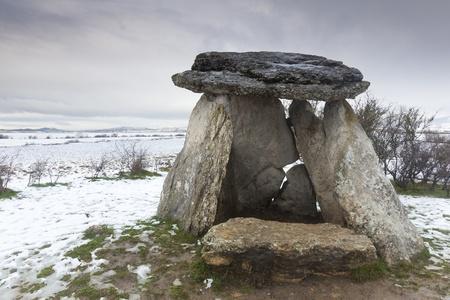 alava: Dolmen of Sorginetxe, Agurain, Alava, Spain