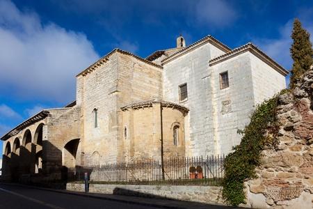 carrion: Church of Santa Maria del Camino, Carrion de los condes, Tierra de Campos, Palencia, Castilla y Leon, Spain