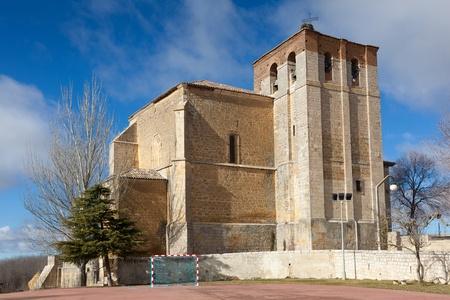 carrion: Church of Carrion de los Condes, Tierra de Campos, Palencia, Castilla y Leon, Spain Stock Photo