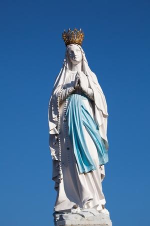 pyrenees: Virgin of Lourdes, High Pyrenees, France