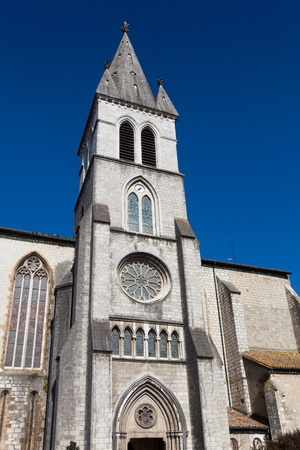 Church of San Pedro, Orthez, Pyrenees Atlantiques, Aquitaine, France Stock Photo - 12744550