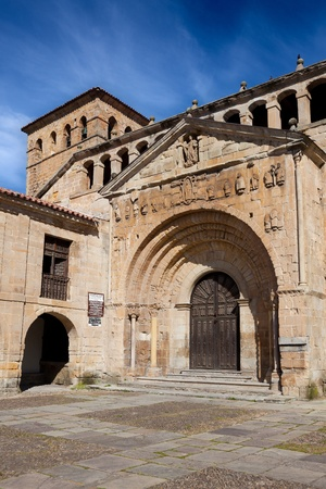 Collegiate church of Santa Juliana, Santillana del Mar, Cantabria, Spain photo