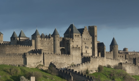 fortress: Carcassonne, Languedoc Roussillon, France