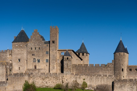 Carcassonne, Languedoc Roussillon, France Stock Photo - 12904658