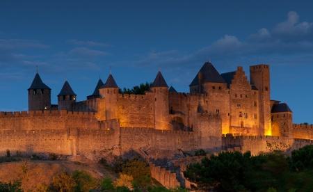 roussillon: Carcassonne, Languedoc Roussillon, France