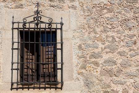 Window of Avila, Castilla y Leon, Spain Stock Photo - 13246826