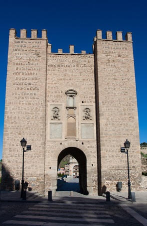 Bridge of Alcantara, Toledo, Castilla la Mancha, Spain photo