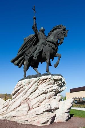 Statue of Alfonso VI, Toledo, Castilla la Mancha, Spain photo