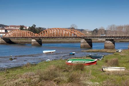 cantabria: River of Colindres, Cantabria, Spain