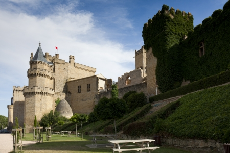 stone of destiny: Olite castle, Navarra, Spain Editorial