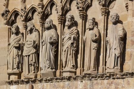 Church of Santa Maria de Olite, Olite, Navarra, Spain Stock Photo - 14206144