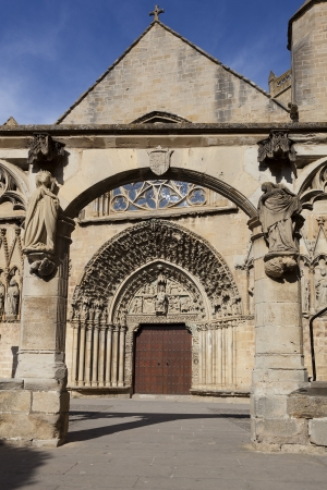 Church of Santa Maria de Olite, Olite, Navarra, Spain photo