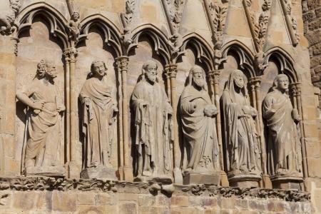 Church of Santa Maria de Olite, Olite, Navarra, Spain Stock Photo - 14206115