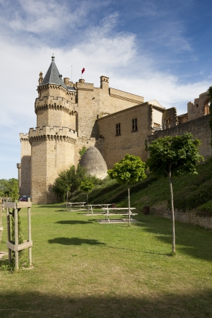 Olite castle, Navarra, Spain Stock Photo - 14200796