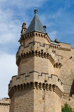 navarra: Olite castle, Navarra, Spain Editorial