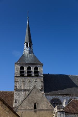 Notre-Dame-du-Val tower, Provins, Ille de France, France Stock Photo - 14566574