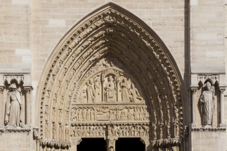 Notre Dame Cathedral, Paris, Ille de France, France Stock Photo - 14566280