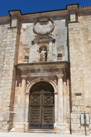 Collegiate church of San Pedro, Lerma, Burgos, Castilla y Leon, Spain Stock Photo - 14985379