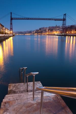basque country: Bridge of Bizkaia, Getzo, Bizkaia, Basque Country, Spain