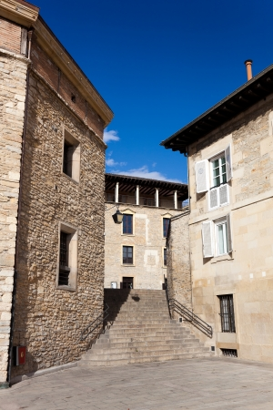 gasteiz: Street of Vitoria, Alava, Basque Country, Spain
