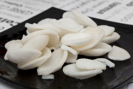 Shrimp crackers (Krupuk)