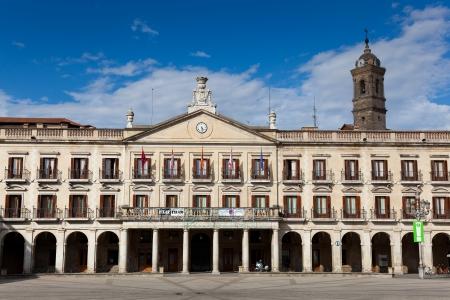 basque country: City council, New square, Vitoria, Alava, Basque Country, Spain