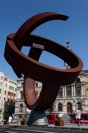 basque country: City hall of Bilbao, Bizkaia, Basque Country, Spain Editorial