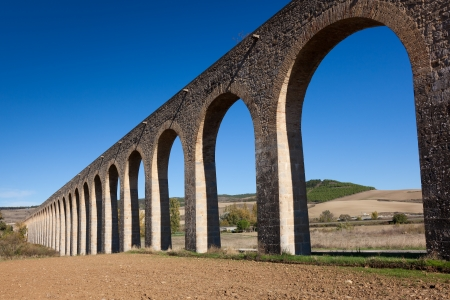 Aqueduct of Noain, Navarra, Spain Stock Photo - 16545238