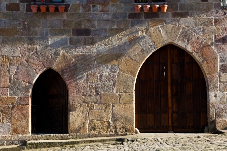 stone of destiny: Architecture of Santillana del Mar, Cantabria, Spain