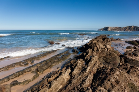 Beach of Comillas, Cantabria, Spain Stock Photo - 16545243