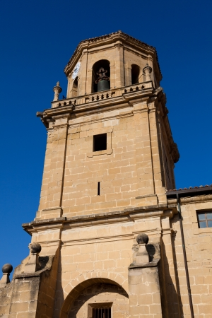 Church of Sajazarra, La Rioja, Spain Stock Photo - 16545275