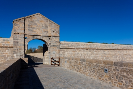 Walls of Pamplona, Navarra, Spain photo