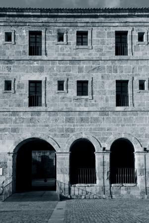 millan: Yuso monastery, San Millan de la Cogolla, La Rioja, Spain Stock Photo