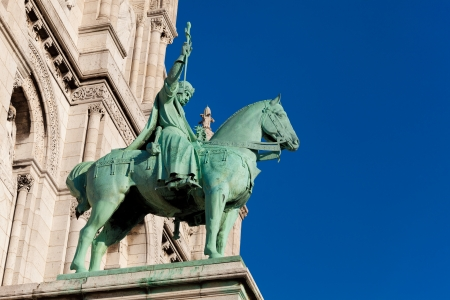 Knight in the Sacre Coeur, Montmarte, Paris, France Stock Photo - 17007185